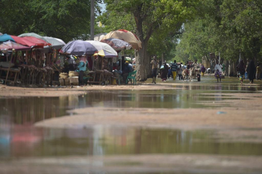 Inondations au Tchad dans la capitale N'Djamena